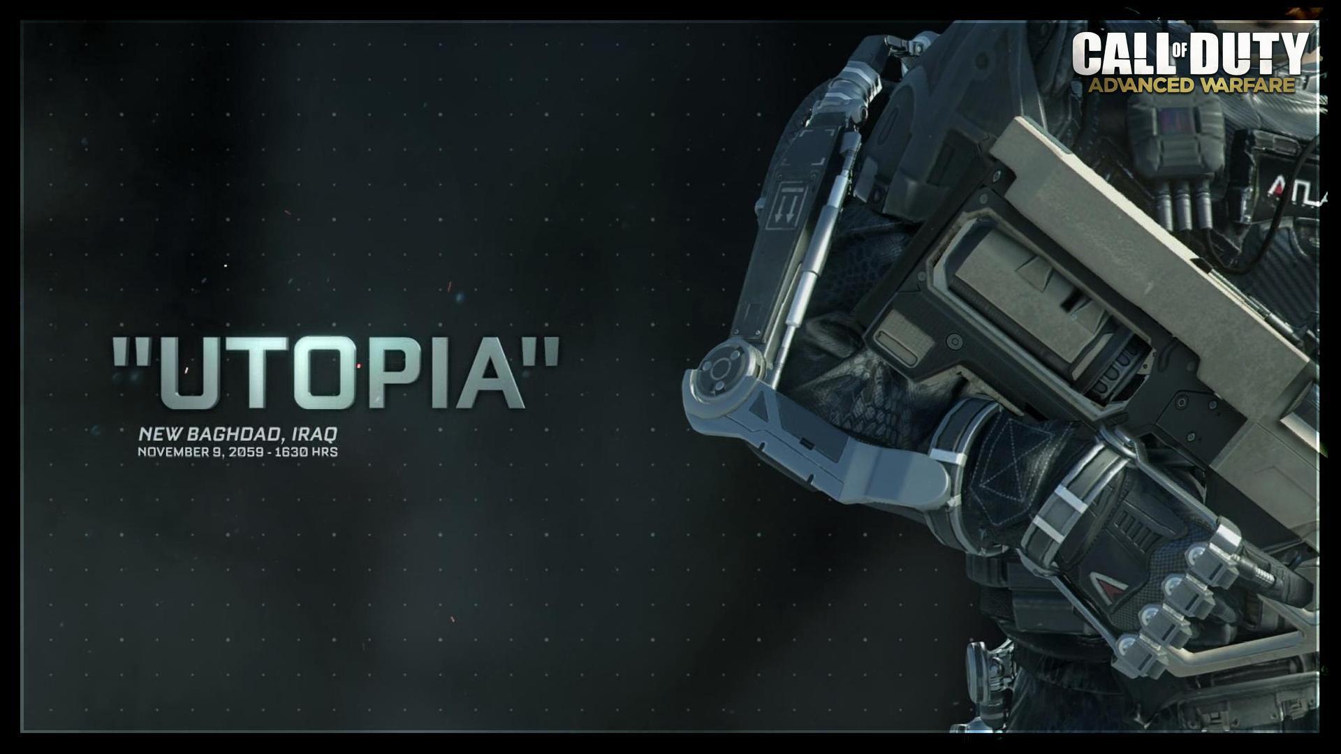 Call of Duty Advanced Warfare Utopia Mission Giriş Resmi