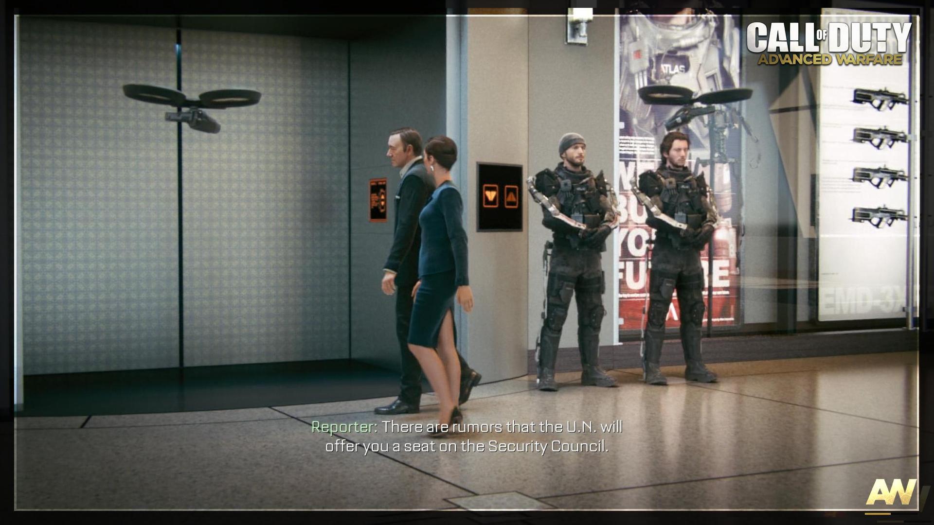 Call of Duty Advanced Warfare Utopia Mission Röportaj