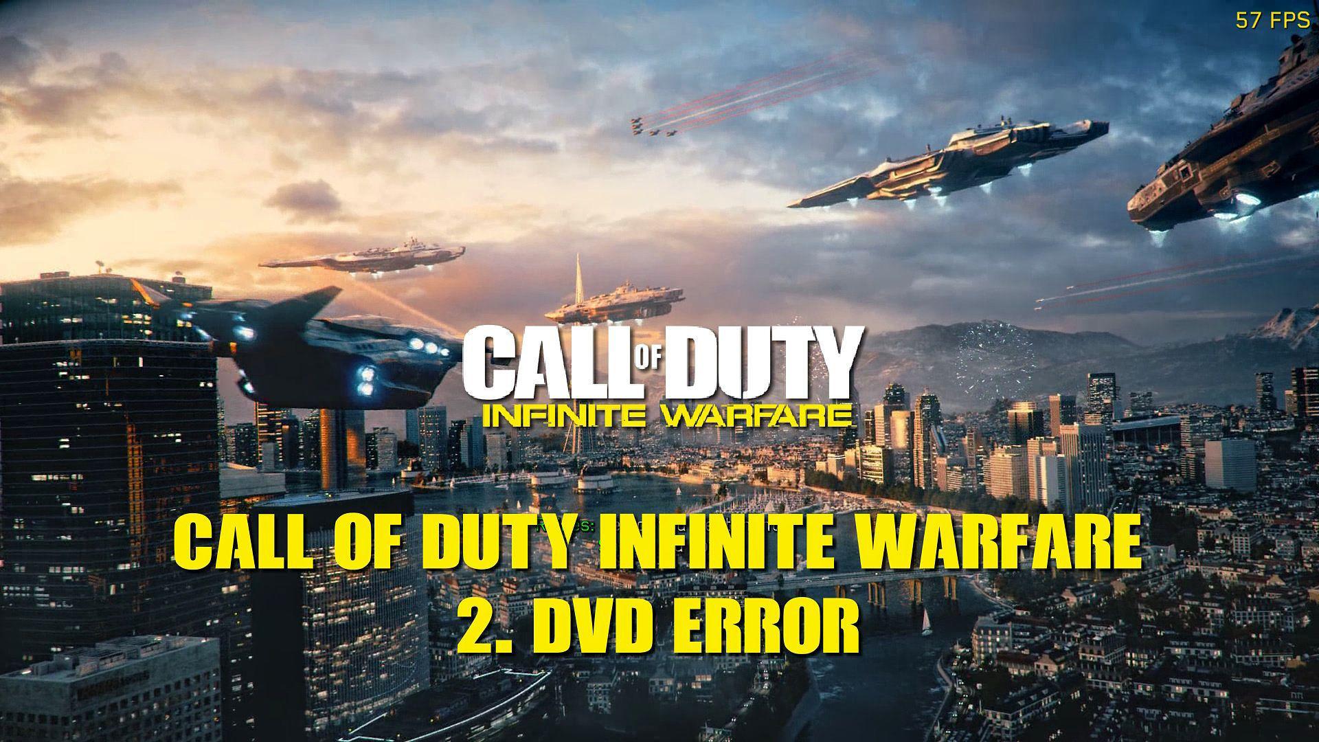 Call of Duty Infinite Warfare 2. DVD Takma Kurulum Sorunu