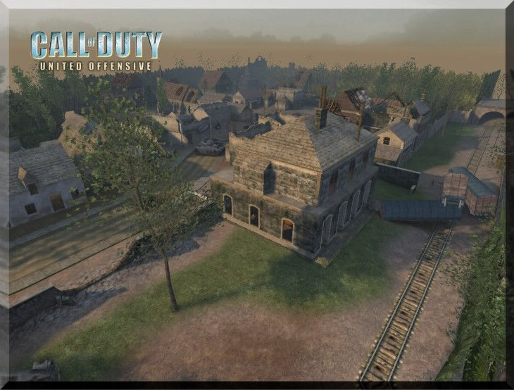 Call of Duty United Offensive MapPack Dawnville