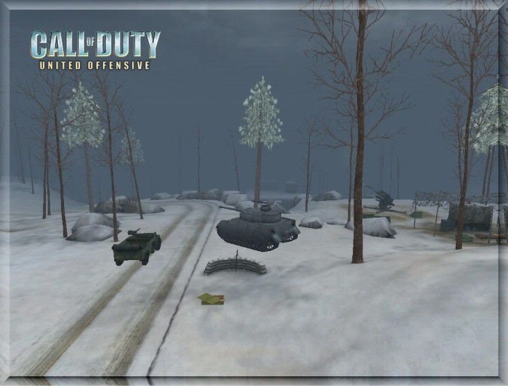 Call of Duty United Offensive MapPack Hurtgen