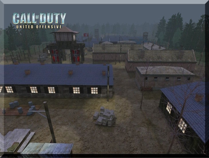 Call of Duty United Offensive MapPack Powcamp