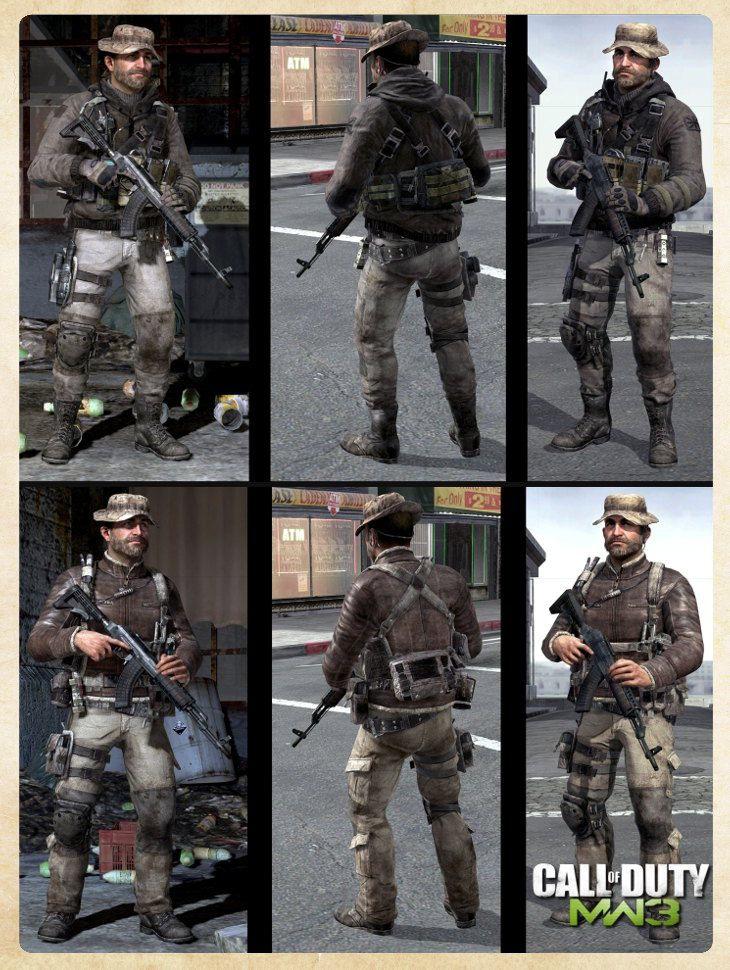 Modern Warfare 3 Cpt. Price