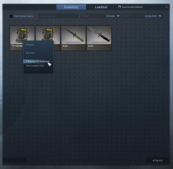 CS:GO C4 Bomba İsim Etiketi Nasıl Değiştirilir?
