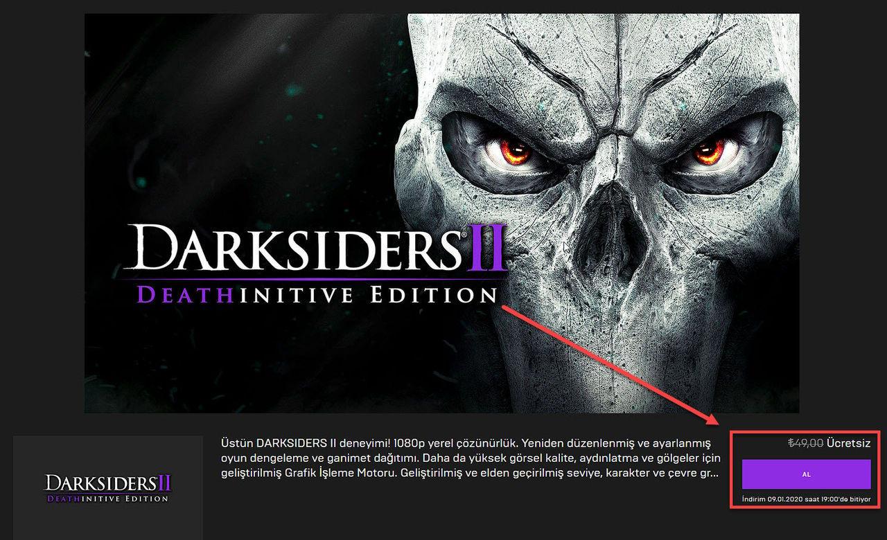 Darksiders II Deathinitive Edition Kampanya