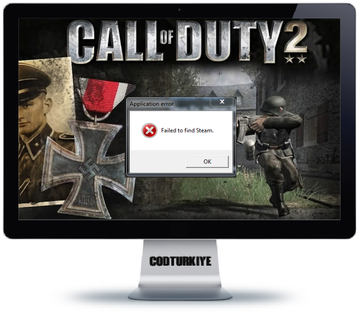 Call of Duty 2 Failed to Find Steam Error