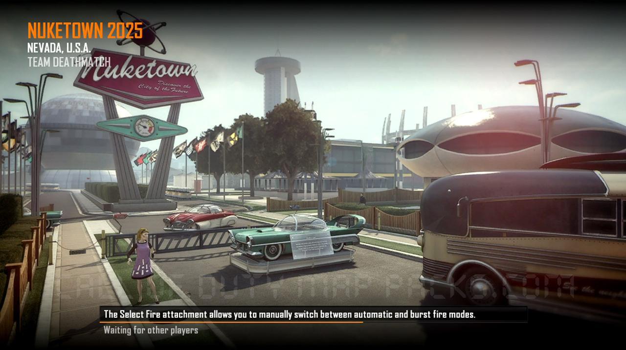 Call of Duty Black Ops 2 Maps Loadingscreen Görünüm - Nuketown 2025
