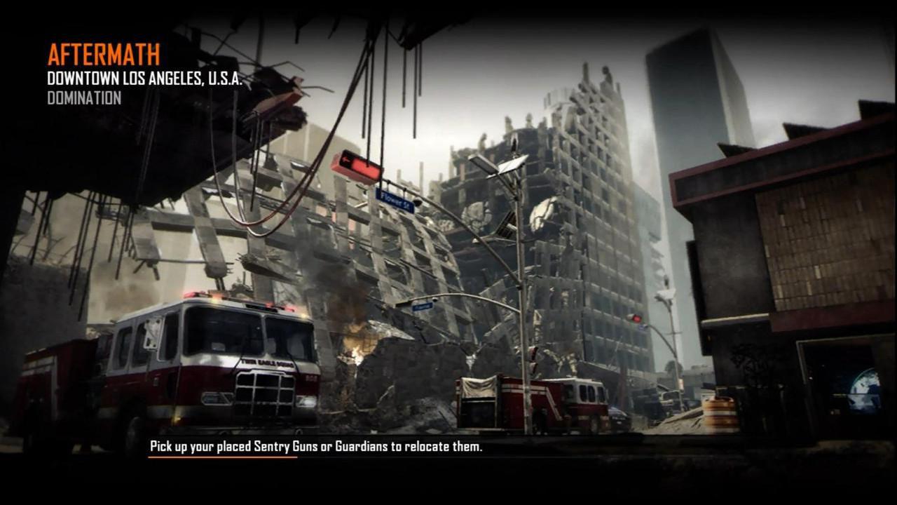 Call of Duty Black Ops 2 Maps Loadingscreen Görünüm - Aftermath
