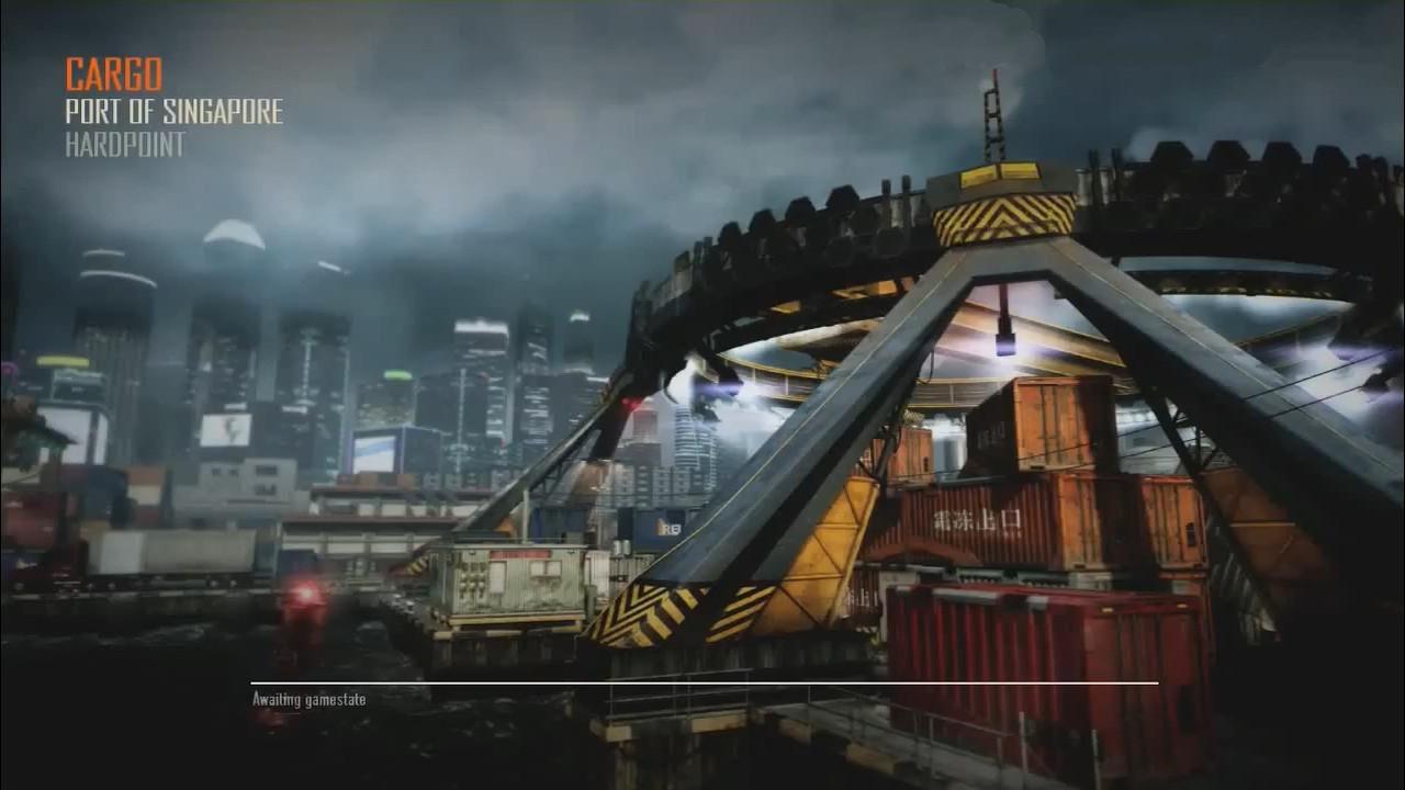 Call of Duty Black Ops 2 Maps Loadingscreen Görünüm - Cargo