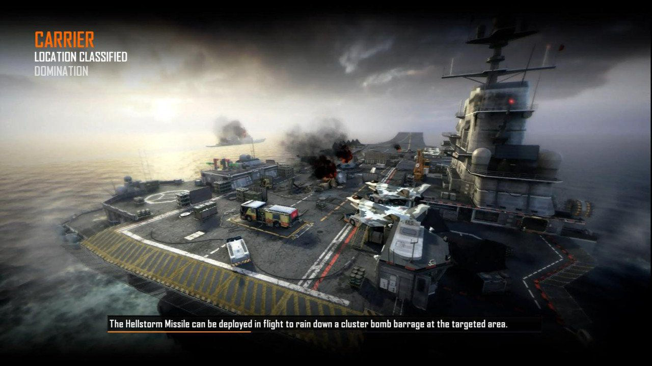 Call of Duty Black Ops 2 Maps Loadingscreen Görünüm - Carrier