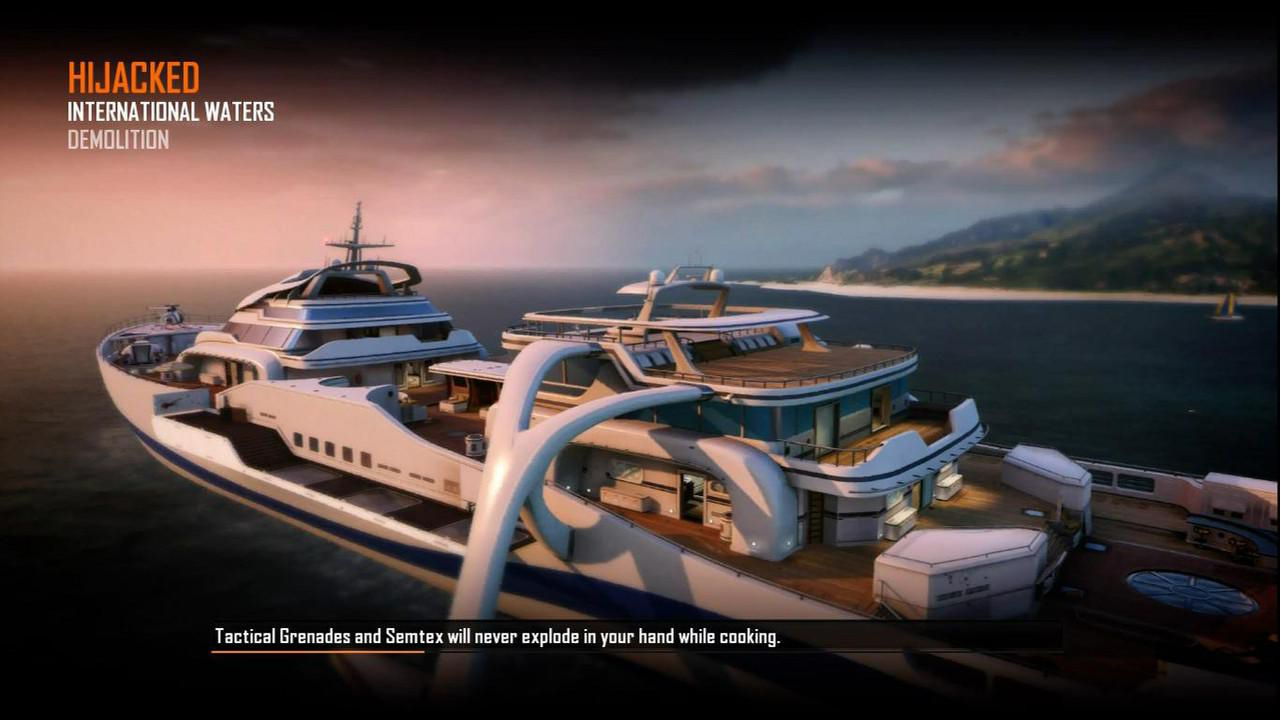 Call of Duty Black Ops 2 Maps Loadingscreen Görünüm - Hijacked