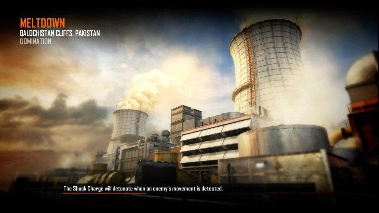 Call of Duty Black Ops 2 Maps Loadingscreen Görünüm - Meltdown