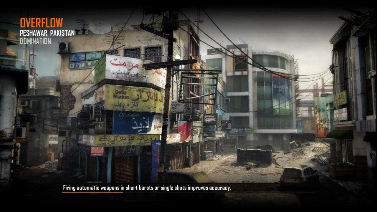 Call of Duty Black Ops 2 Maps Loadingscreen Görünüm - Overflow