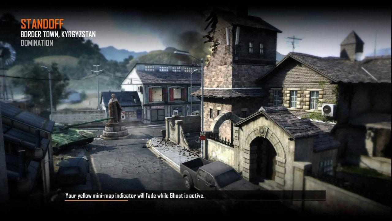 Call of Duty Black Ops 2 Maps Loadingscreen Görünüm - Standoff