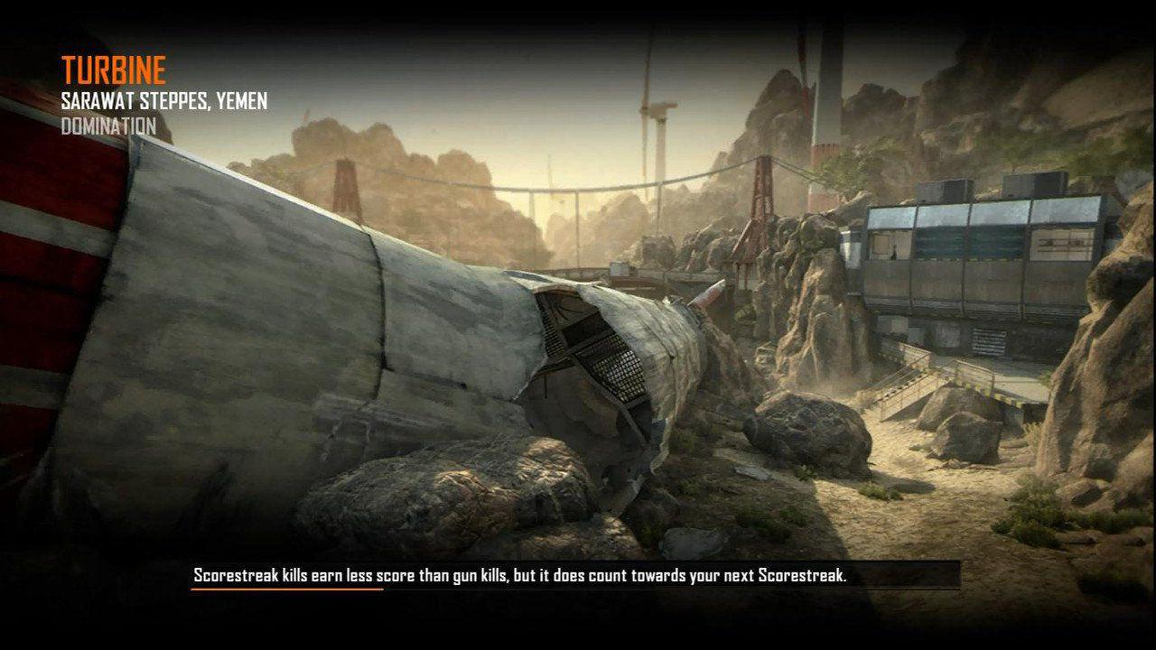 Call of Duty Black Ops 2 Maps Loadingscreen Görünüm - Turbine