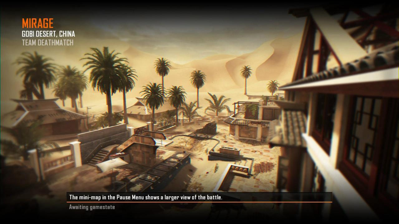 Call of Duty Black Ops 2 Maps Loadingscreen Görünüm - Mirage
