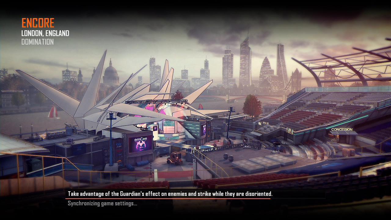 Call of Duty Black Ops 2 Maps Loadingscreen Görünüm - Encore