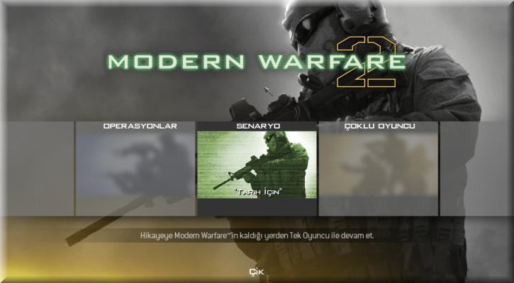 Call of Duty 6 Modern Warfare 2 Türkçe Yama