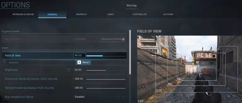 Call of Duty Modern Warfare 2019 FOV Ayarları