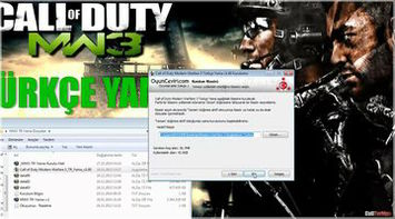 Call of Duty Modern Warfare 3 Türkçe Dublaj/Yama Kurulum