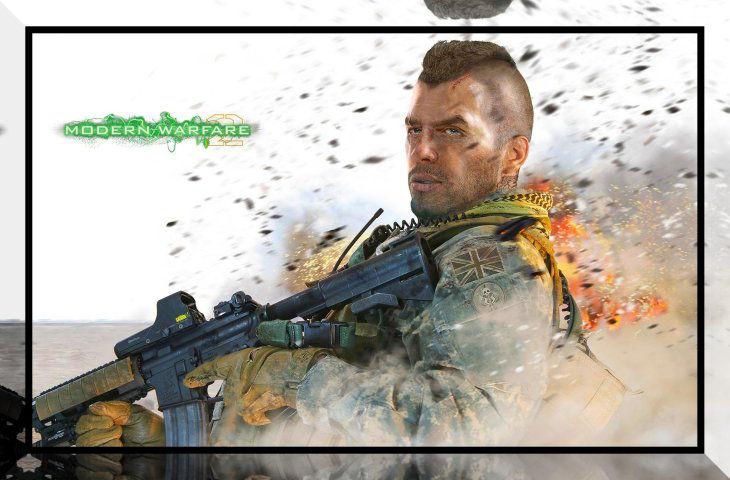 Modern Warfare 2 John 'Soap' MacTavish