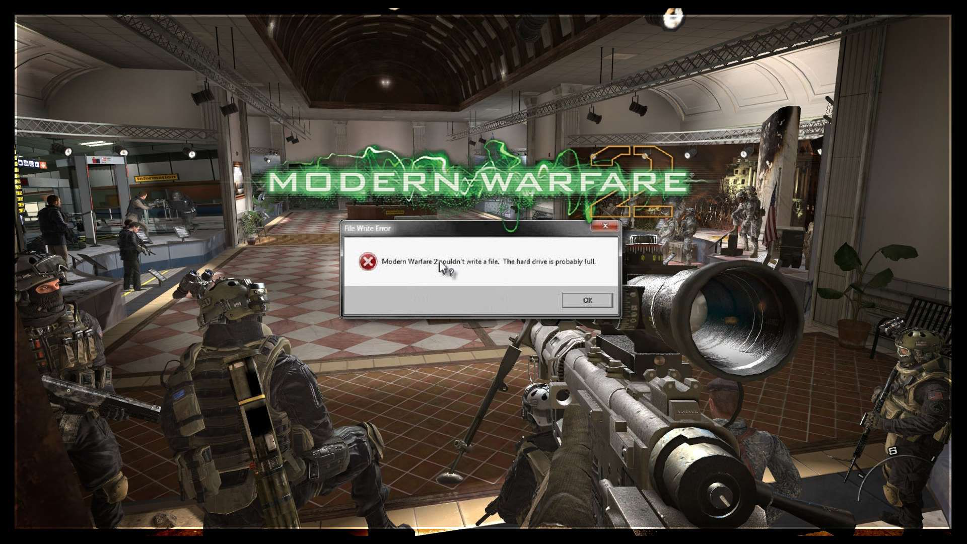 Call Of Duty Modern Warfare 3 Couldn't Load Image XP – Solved