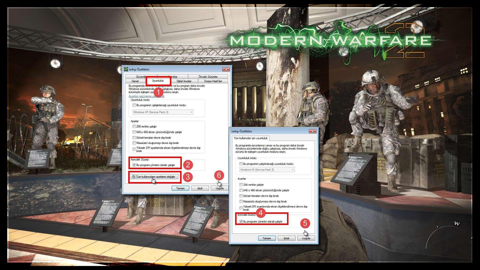 Modern Warfare 2 Couldn't Write a File Hatası