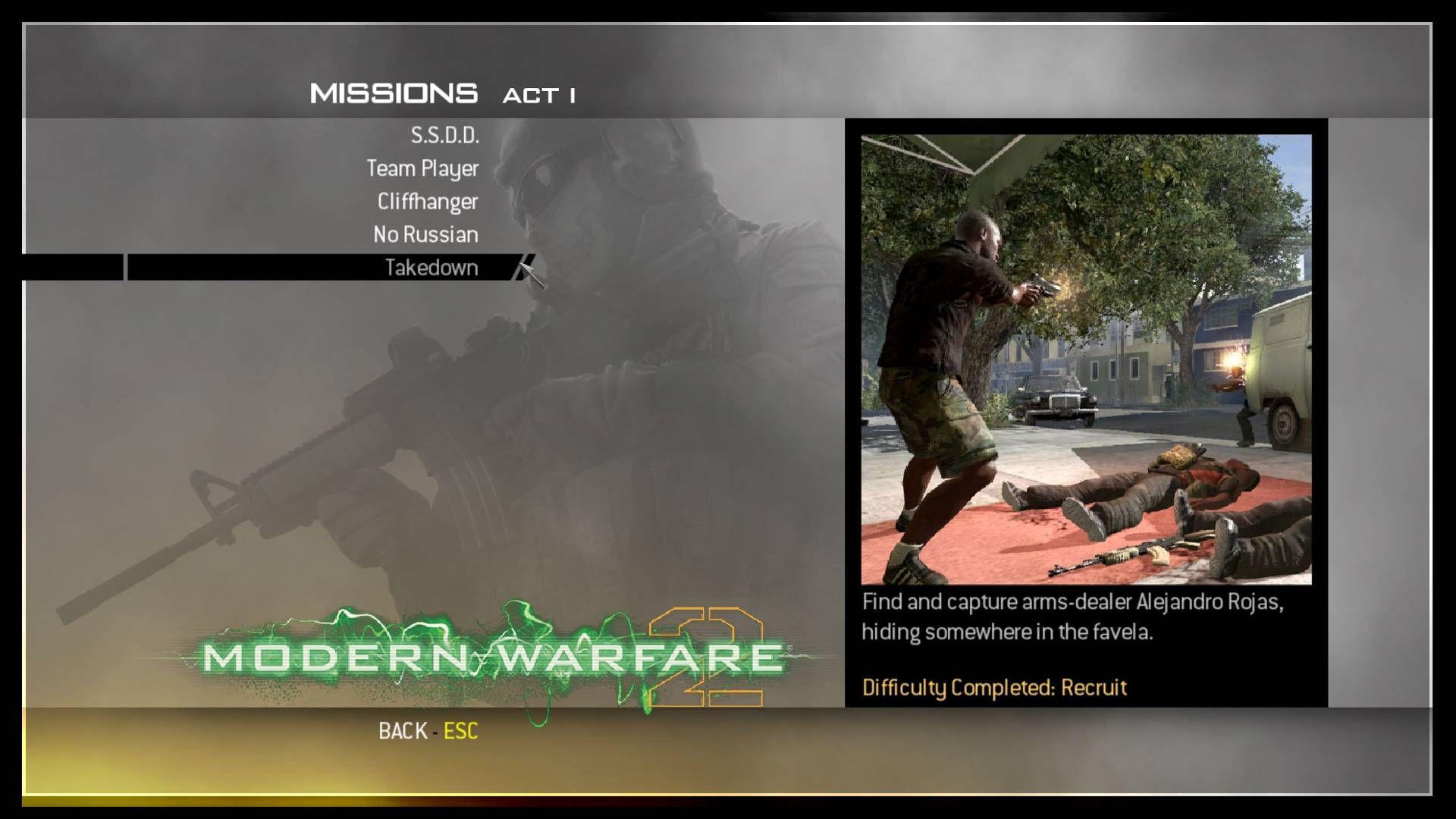 Call of Duty Modern Warfare 2 Save Game Dosyası İndir