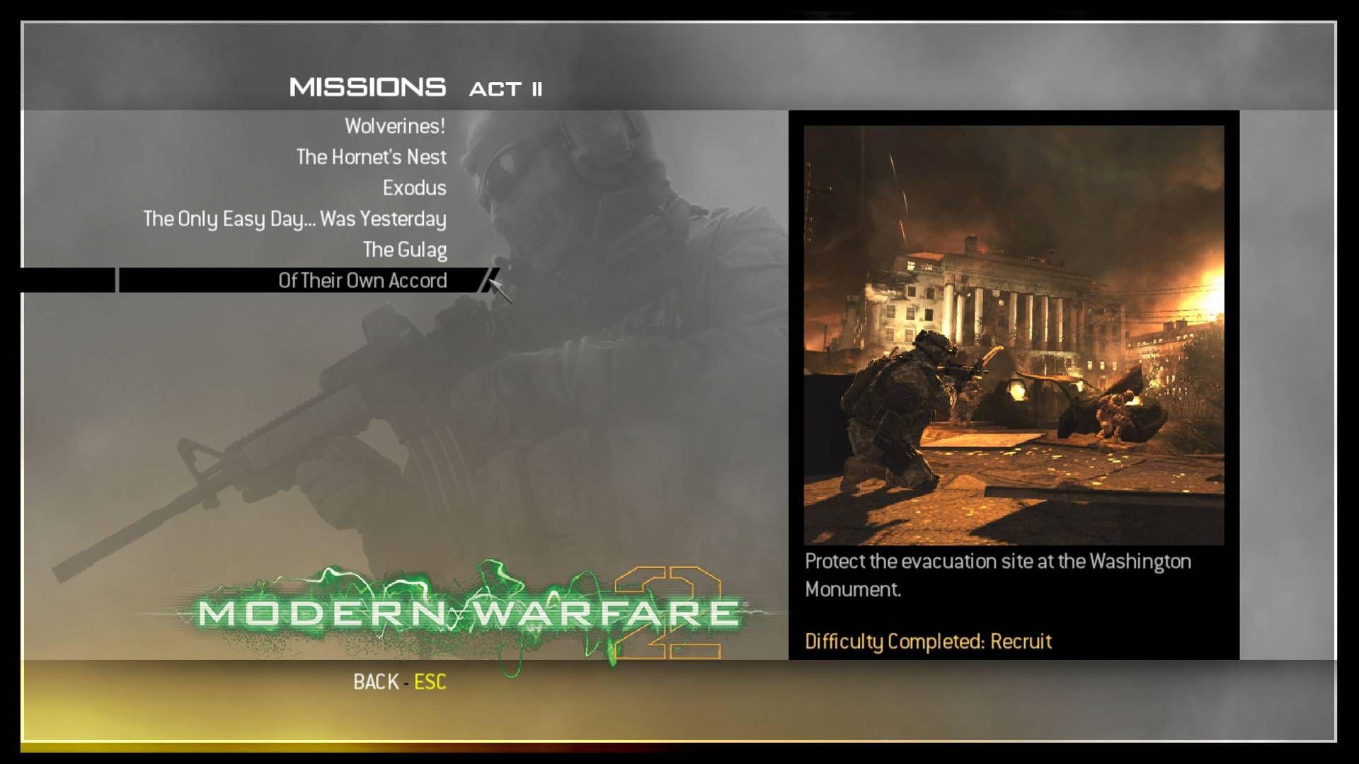 Call of Duty Modern Warfare 2 Save Game Dosyası