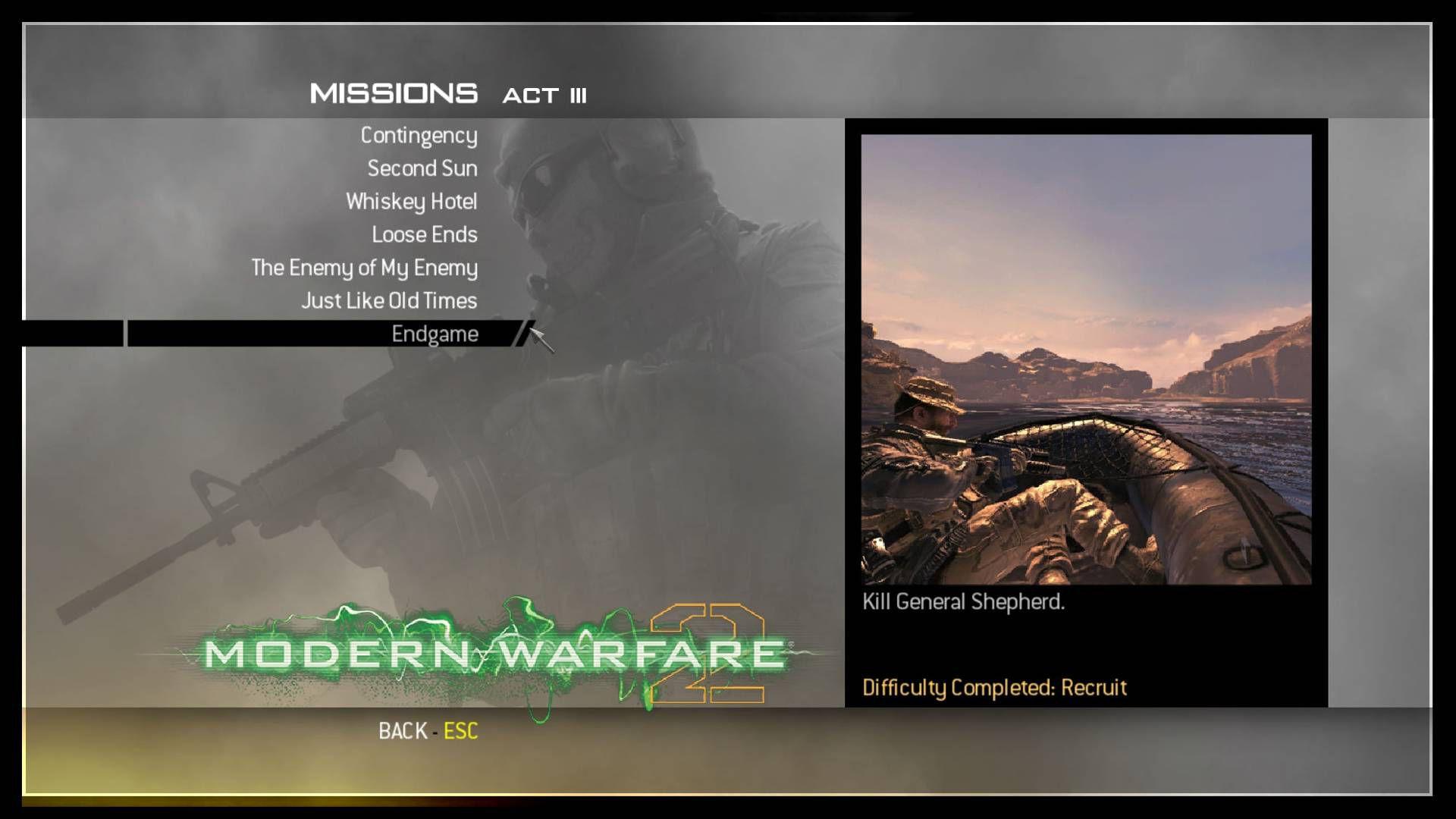 Call of Duty Modern Warfare 2 Save Game Dosyası Download
