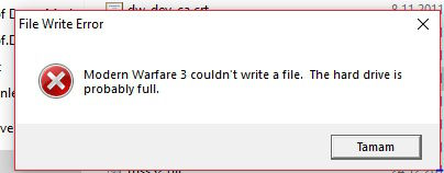 """Call Of Duty Modern Warfare 3: Fixing """"Couldn't load image 'devfonts_pc' """""""
