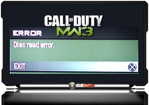 Call Of Duty Modern Warfare 3 Disc Read Error Hatası Çözümü