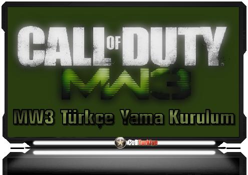Modern Warfare 3 Türkçe Yama Kurulum Hatası