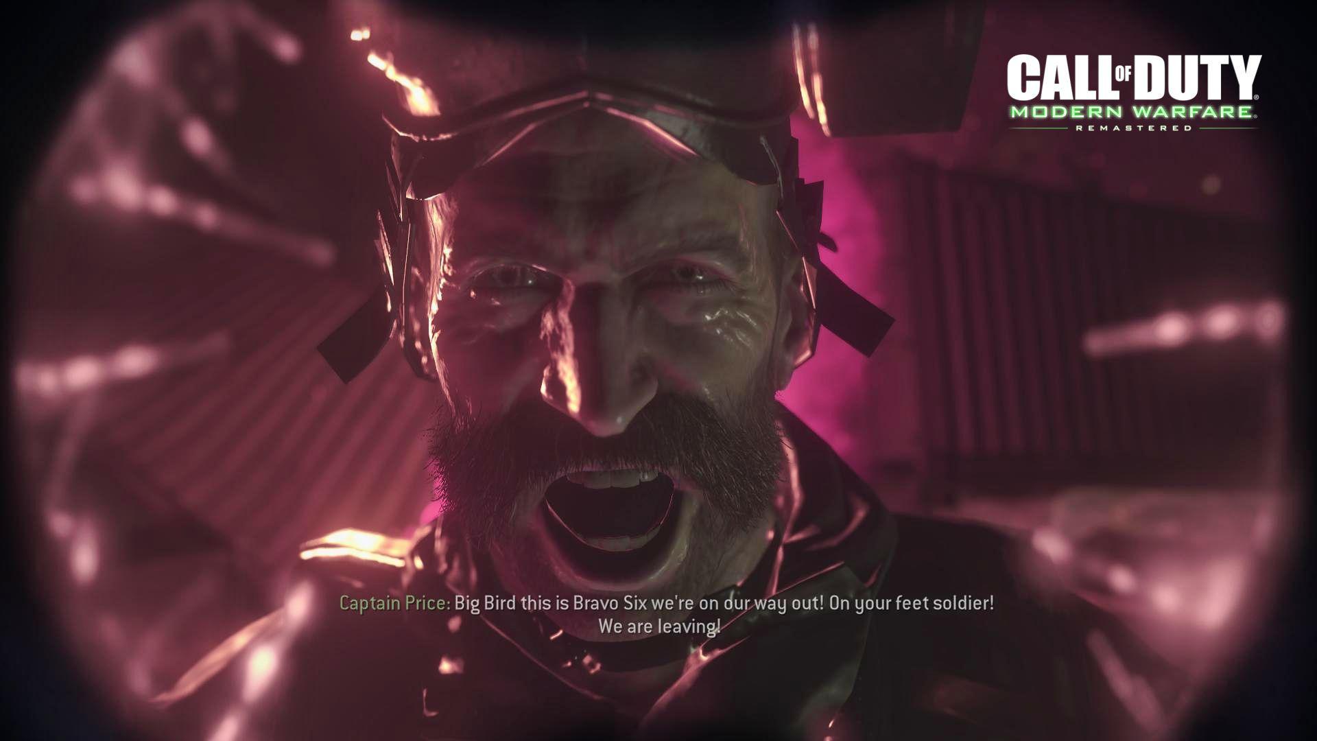 Modern Warfare Remastered Gameplay Ekran Görüntüleri