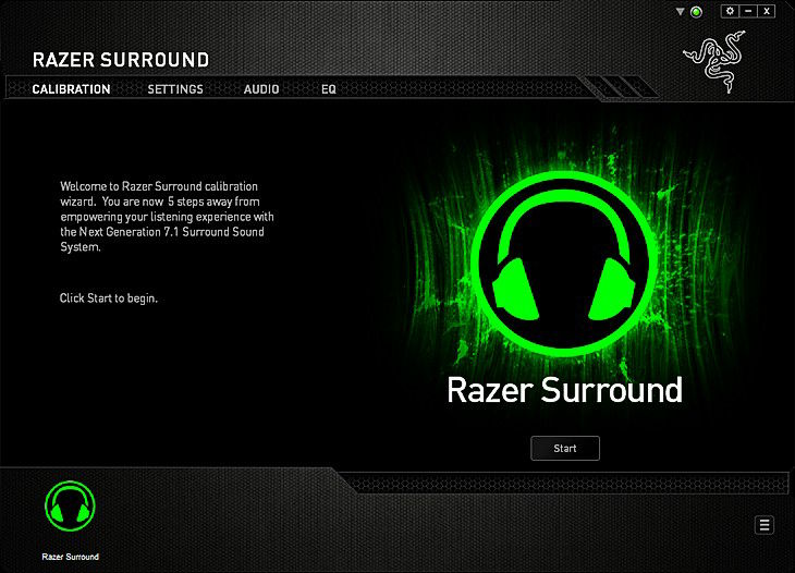 Razer Surround Calibration