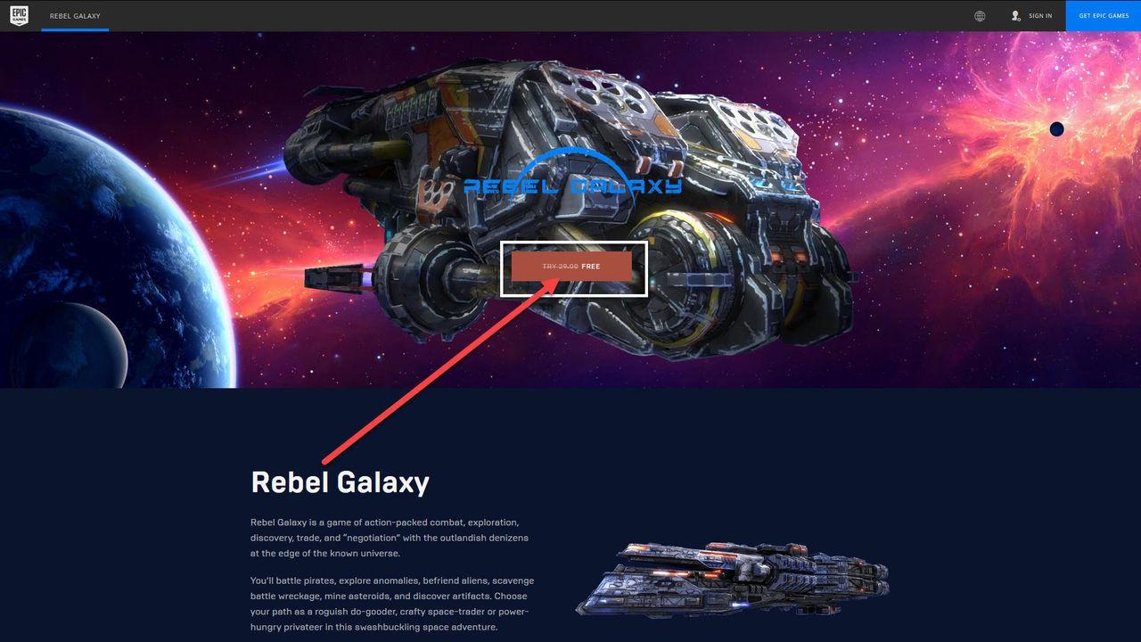 Uzay Oyunu Rebel Galaxy Tam Sürüm Ücretsiz Kampanya