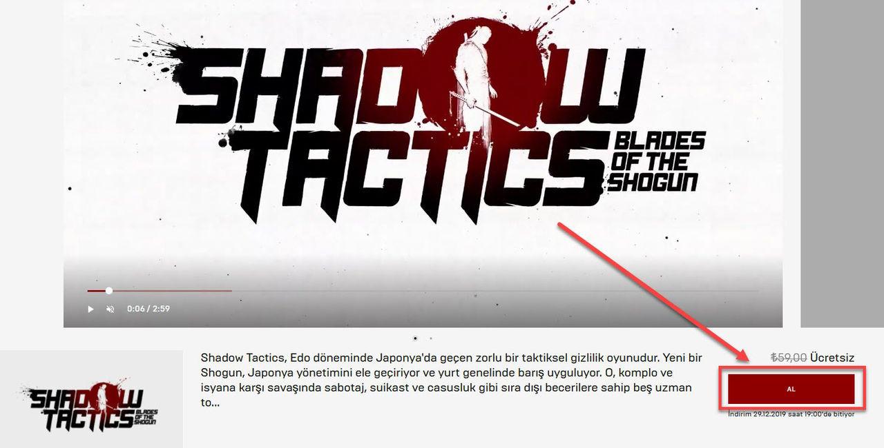 Shadow Tactics: Blades of The Shogun Kampanya