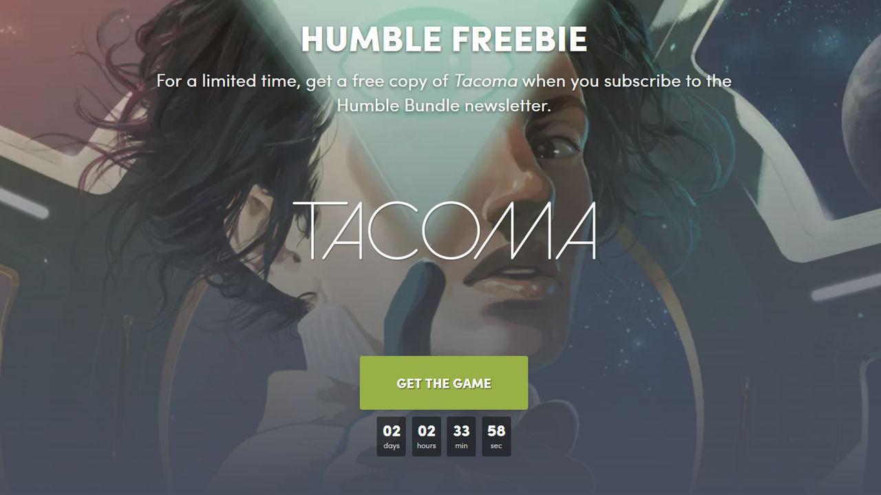 Tacoma Free Tam Sürüm Kampanya Sayfası
