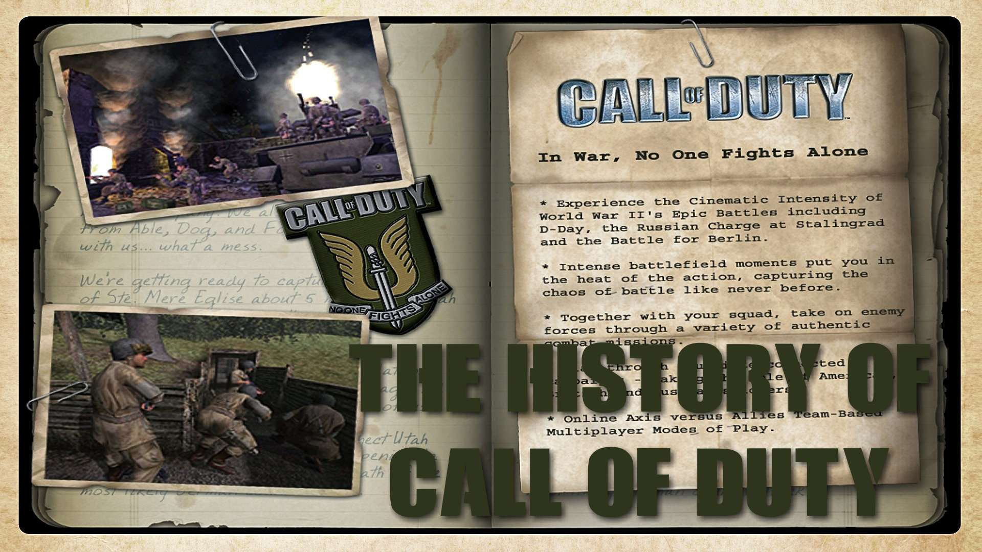 The History of Call of Duty
