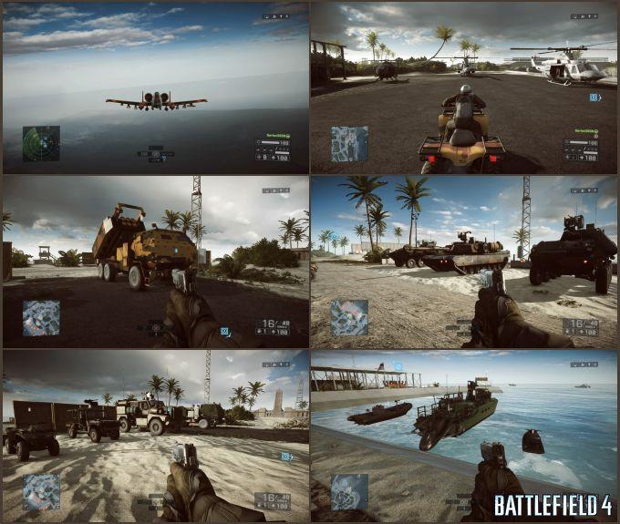 Battlefield 4 Araçlar/Taşıtlar