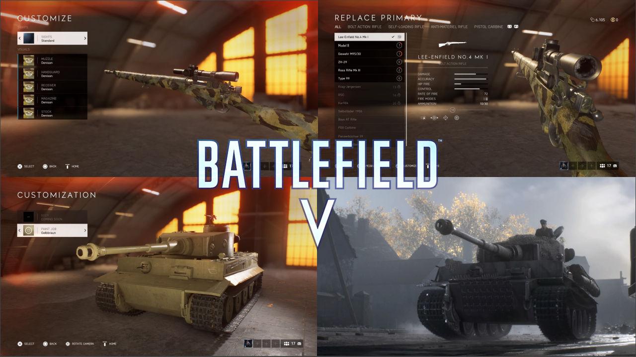 Battlefield 5 Silahlar