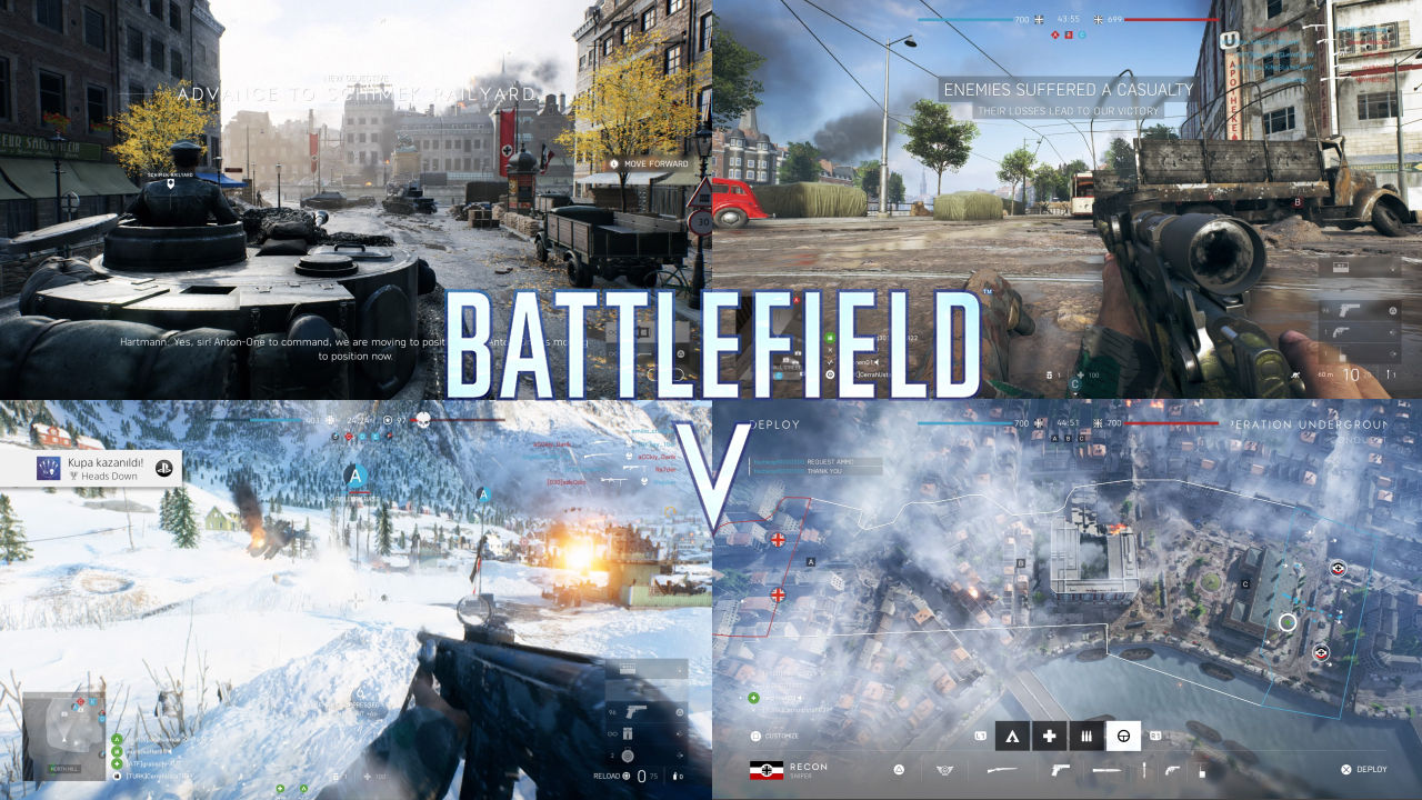 Battlefield 5 Oynanış Görüntüleri