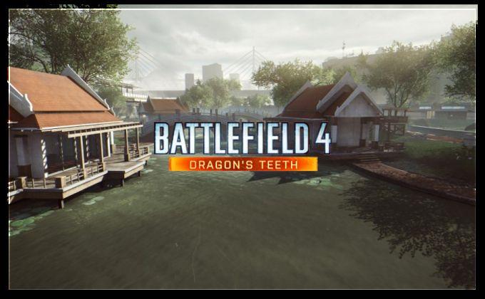 Battlefield 4: Dragon's Teeth DLC Map Lumphini Garden