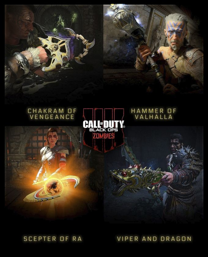Call of Duty Black Ops 4 Special Weapons