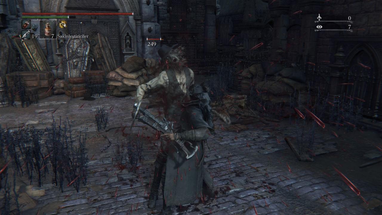 Bloodborne Parry Yapmak