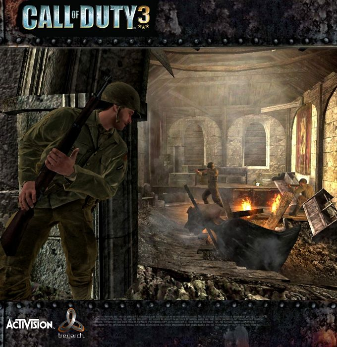 Call of Duty 3 Senaryo
