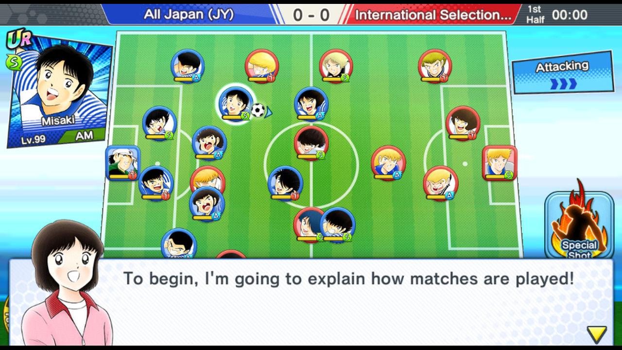 Captain Tsubasa: Dream Team Reroll