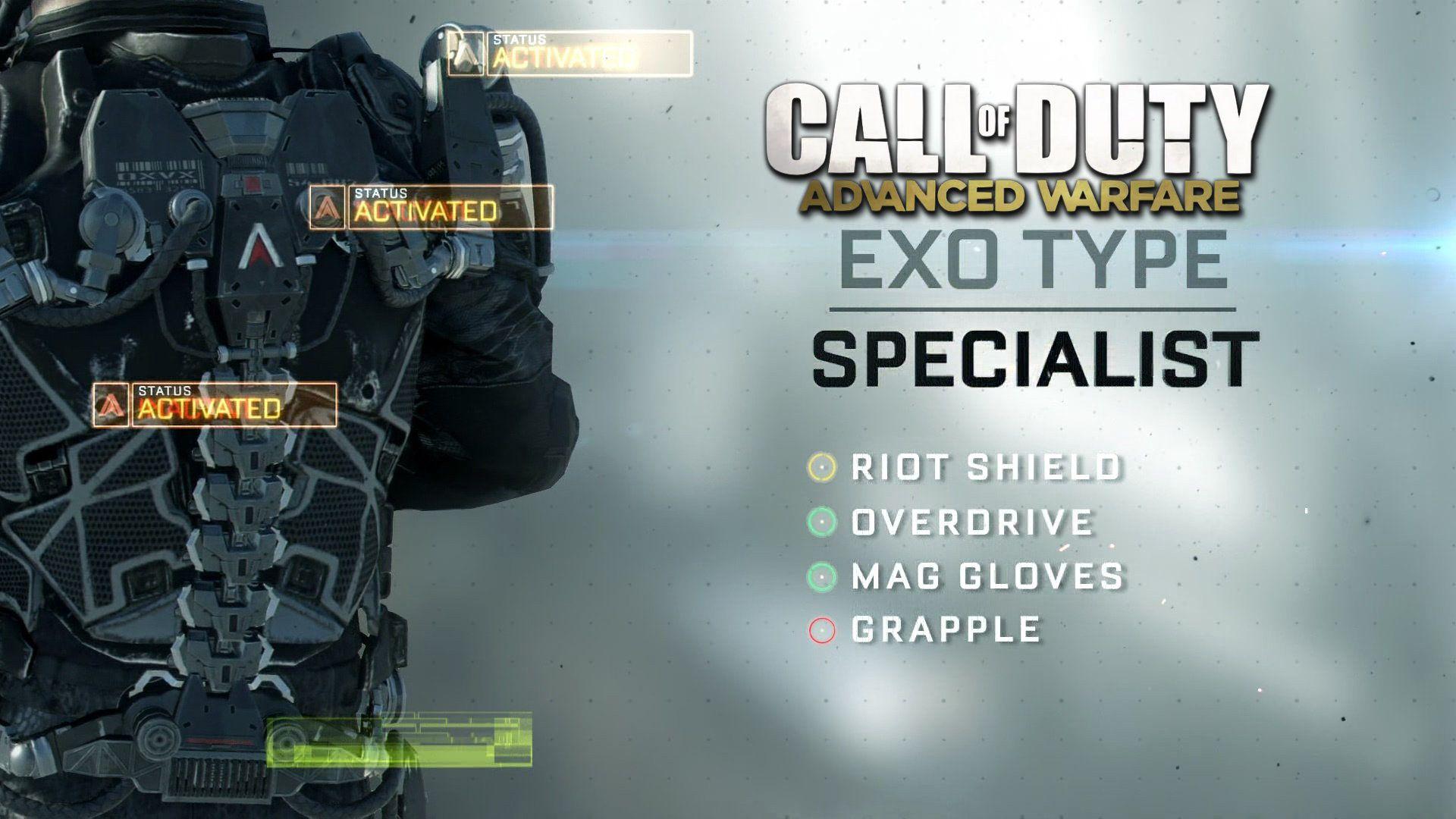 Call of Duty: Advanced Warfare Exo Suit