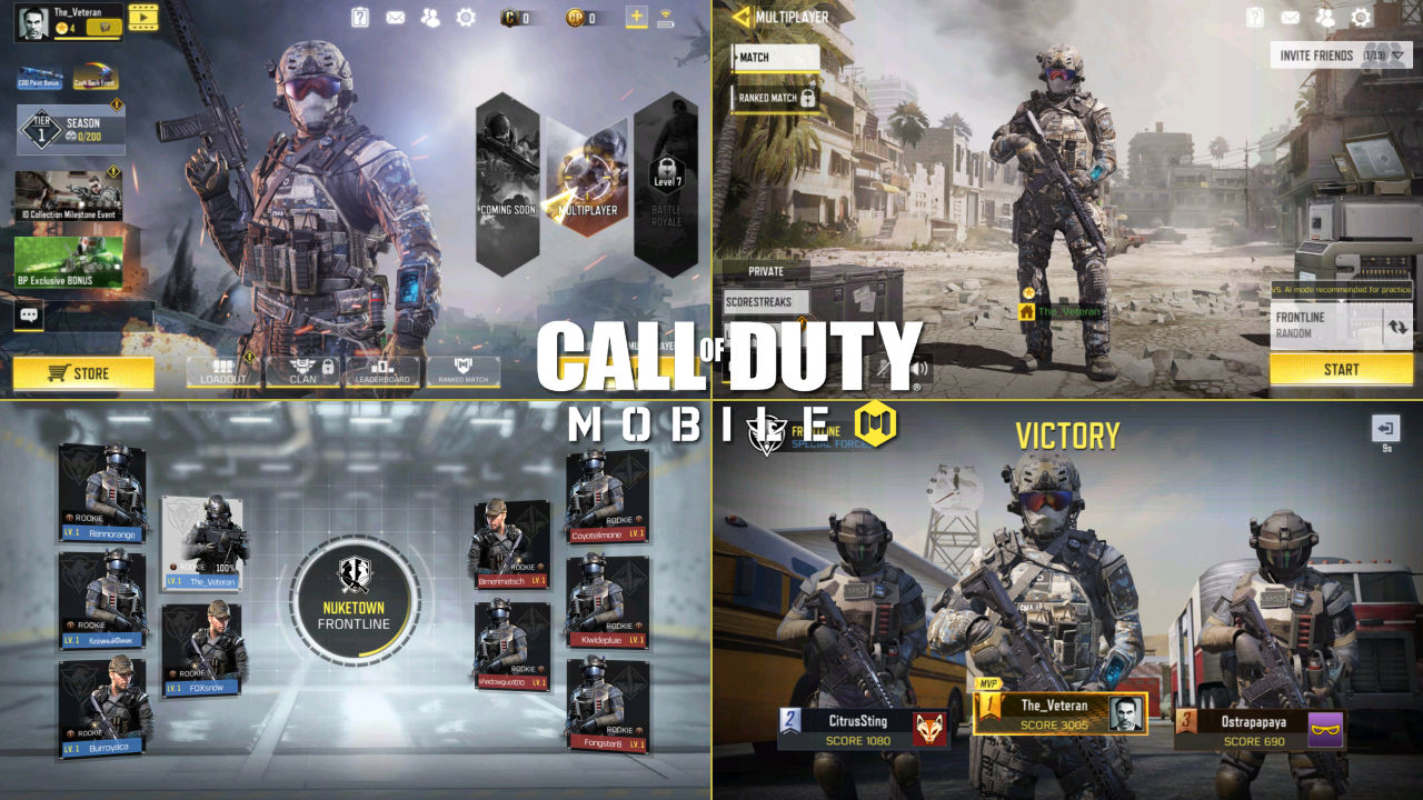 Call of Duty Mobile Emulator PC Oyuniçi Görüntüleri