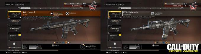 Call of Duty Infinite Warfare Epic Common NV4